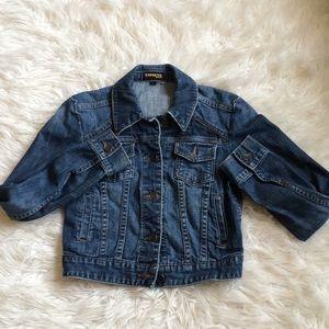 Express jeans denim jacket XS